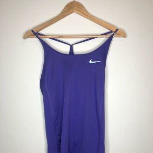 Purple Nike Tank Top